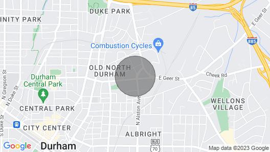 Modern Open Bright 2 Masters Near Duke+dwntn Map