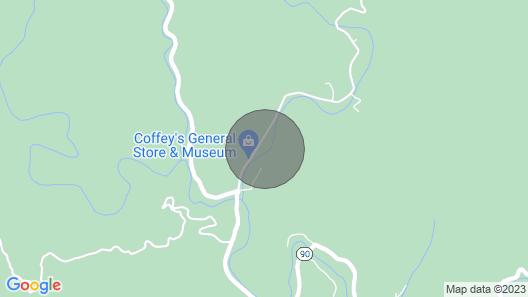 The Wilson's Creek Lodge Map