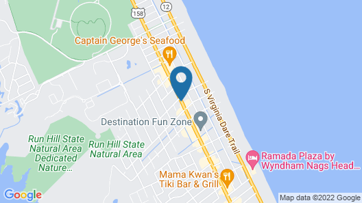 Outer Banks Inn Map
