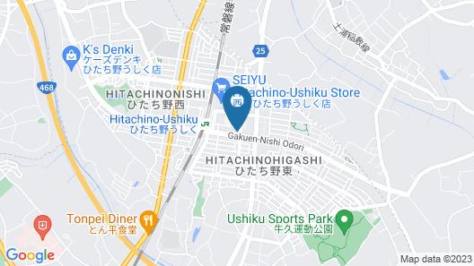 Hotel Lifetree Hitachinoushiku Map