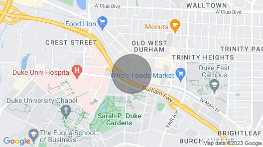 Viagem Durham Modern Studio w/ Parking Map