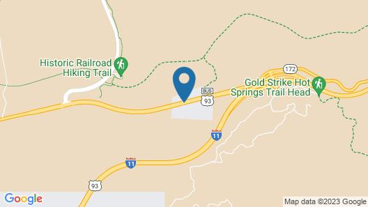Hoover Dam Lodge Map
