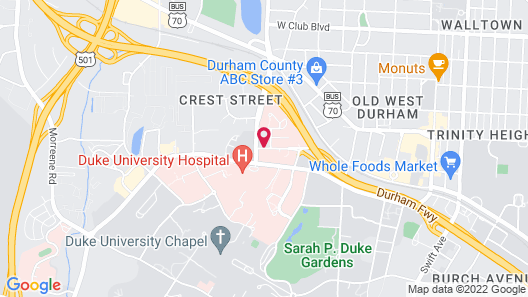 The Lodge at Duke Medical Center Map