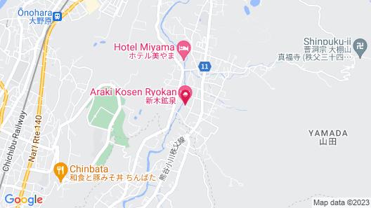 Araki Kosen Map