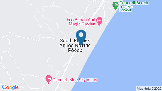 Gennadi Grand Resort Map