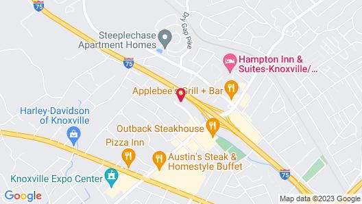 Holiday Inn Knoxville N - Merchant Drive, an IHG Hotel Map