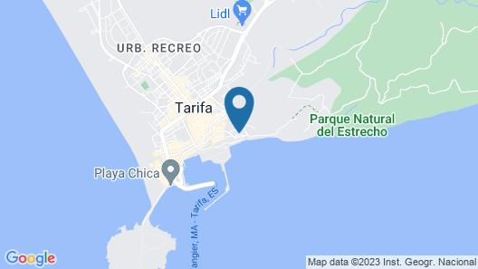 La Residencia Tarifa Map