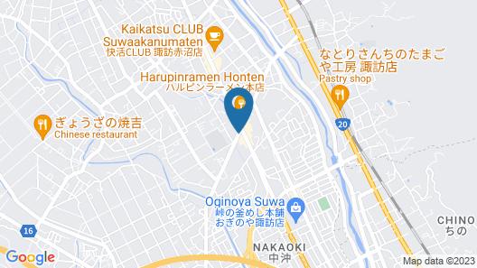 Chisun Inn Suwa Ic Map