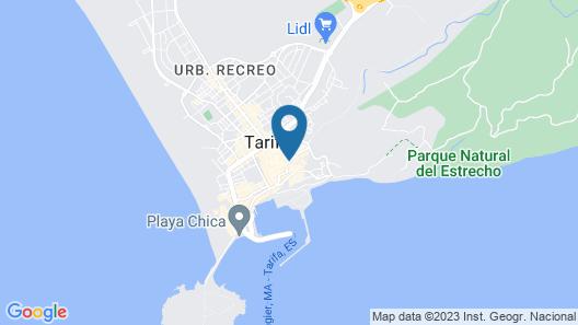 Hotel Misiana Map