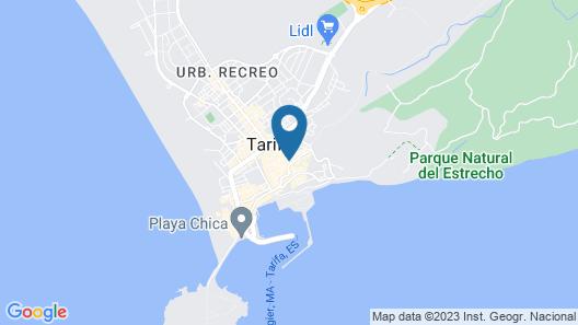 Hotel Casa Blanco Map