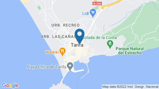Hostal El Asturiano Map