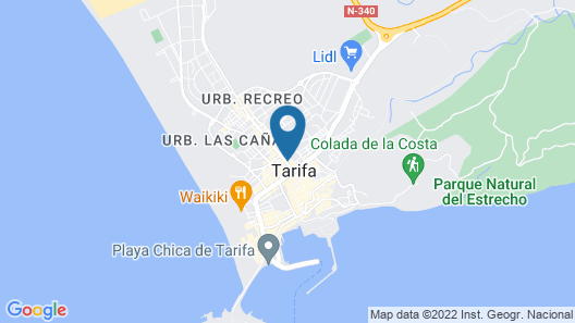 Hotel Convento Tarifa Map