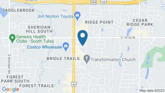 Holiday Inn Express Tulsa South Bixby, an IHG Hotel Map