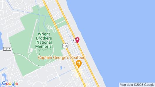 Days Inn by Wyndham Kill Devil Hills Oceanfront - Wilbur Map