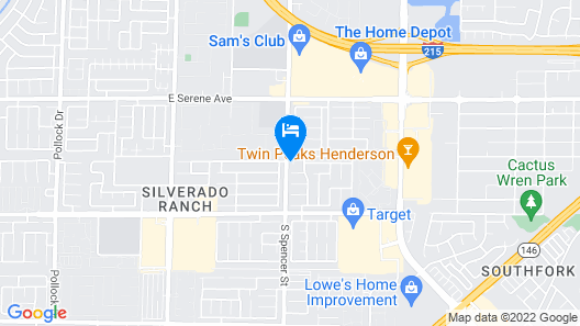 Grandeur Las Vegas Custom Home Map