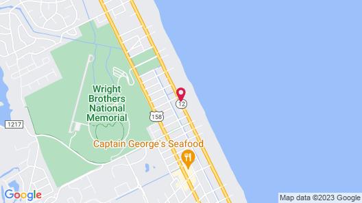 Quality Inn Carolina Oceanfront Map