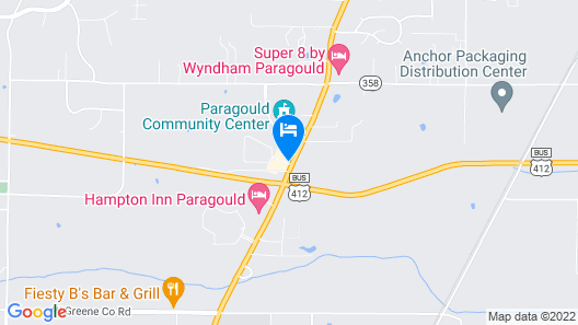 Holiday Inn Express Hotel & Suites Paragould, an IHG Hotel Map