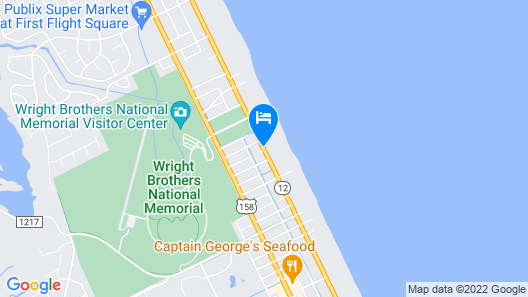 Travelodge by Wyndham Outer Banks/Kill Devil Hills Map