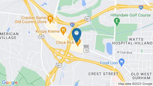 Days Inn by Wyndham Durham/Near Duke University Map