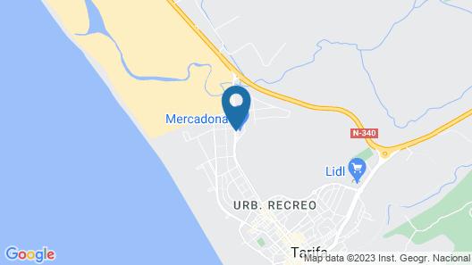 Hotel Tarifa Lances Map