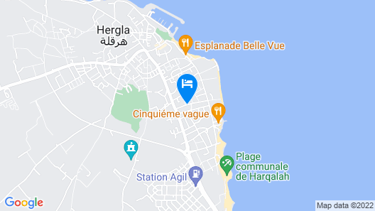 El Goulli Appartement Map
