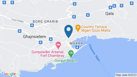 Grand Hotel Gozo Map