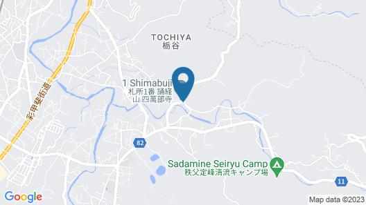 OYO Hatago Ichiban Map