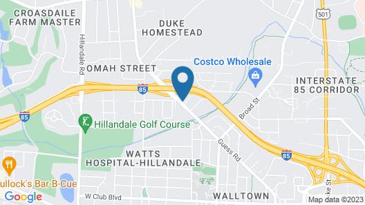 Holiday Inn Express Durham, an IHG Hotel Map