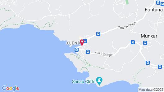Hotel Xlendi Resort & Spa Map