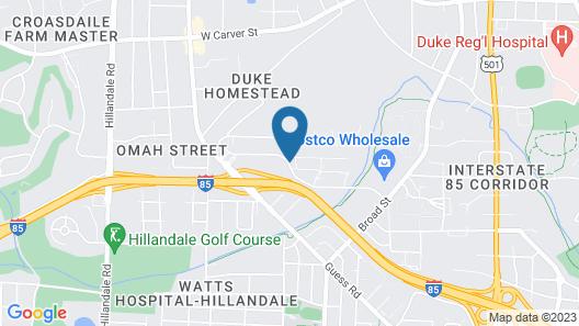 Red Roof Inn Durham - Duke University Medical Center Map