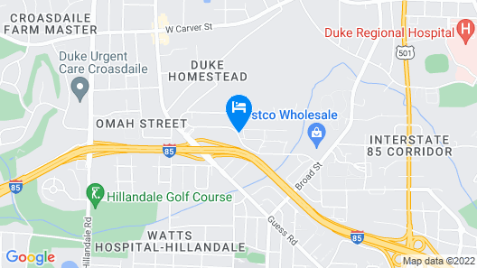 Red Roof Inn Durham - Duke University Medical Center Map