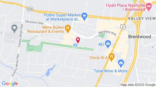 Sonesta ES Suites Nashville Brentwood Map