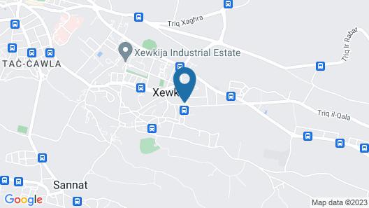 Quaint Boutique Hotel Xewkija Map