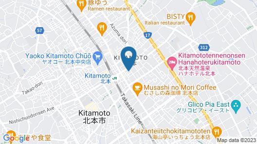 The Celecton Kitamoto Ekimae Map