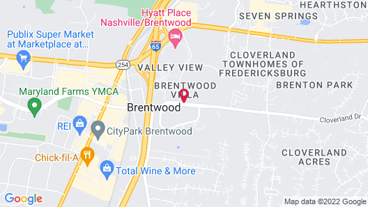 Brentwood Suites Map
