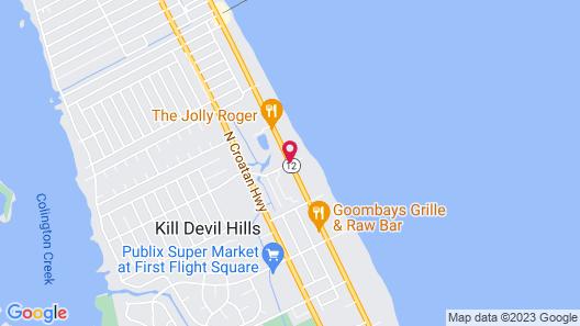 Days Inn & Suites by Wyndham Kill Devil Hills-Mariner Map