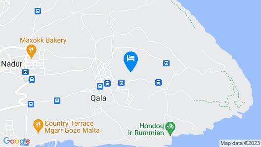 Gozo Windmill Apartments Map