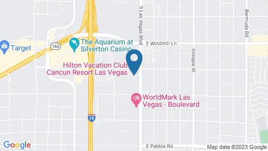 Cancun Resort LAS Vegas Map