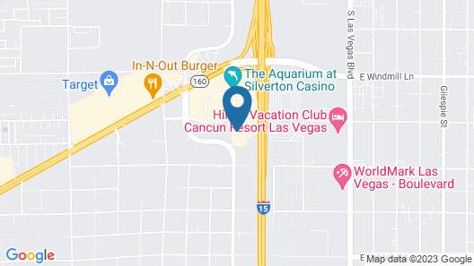 Hyatt Place Las Vegas at Silverton Village Map