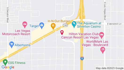 Silverton Casino Hotel Map