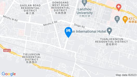 Ibis Lanzhou West Railway Station Hotel Map