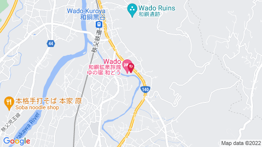 Yu no yado Wadoh Map