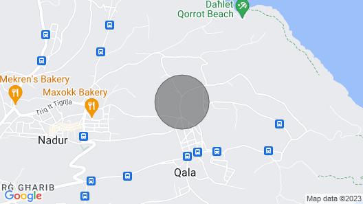Il-bejta Penthouse Map