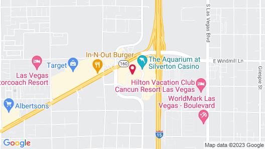 The Berkley Las Vegas  Map