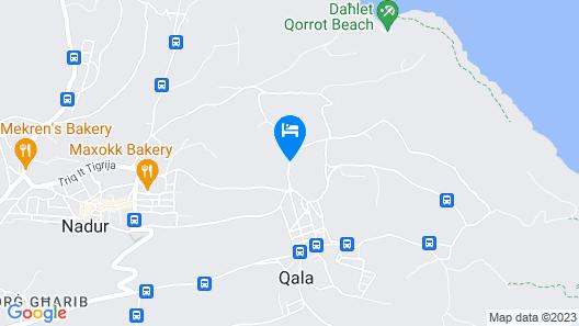 Gozo Pride Penthouse Map