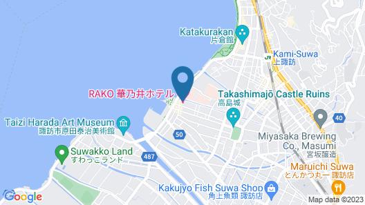 Rako Hananoi Hotel Map