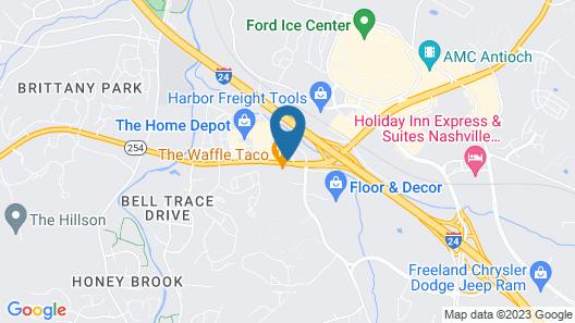 Knights Inn Antioch Map