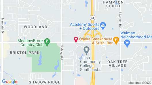 Holiday Inn Hotel & Suites Tulsa South, an IHG Hotel Map