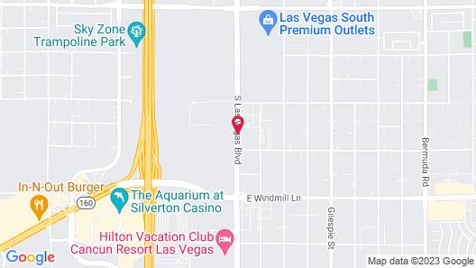 Hilton Garden Inn Las Vegas Strip South Map