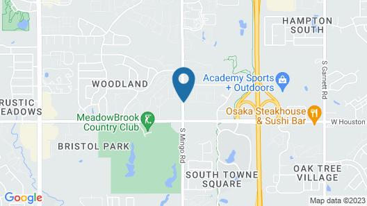 Avid Hotels Tulsa South - Medical District, an IHG Hotel Map